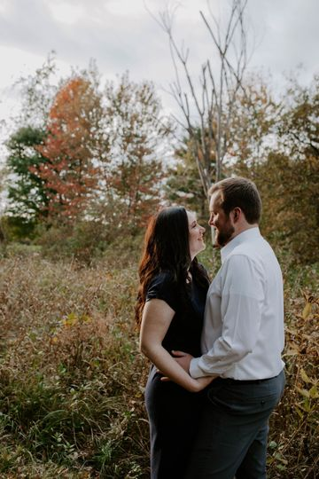 Engagement Photos on grounds