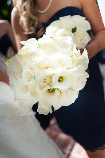 Bridal Bouquet Designed by L.A. Flowers, Inc.   Hotel Arista Naperville Wedding Beautiful Photo...