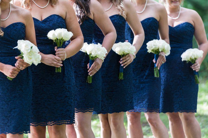Bridesmaids' BouquetsDesigned by L.A. Flowers, Inc.Hotel Arista Naperville WeddingBeautiful Photo...