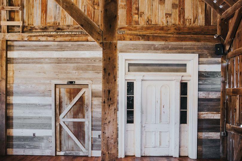 Door to the venue