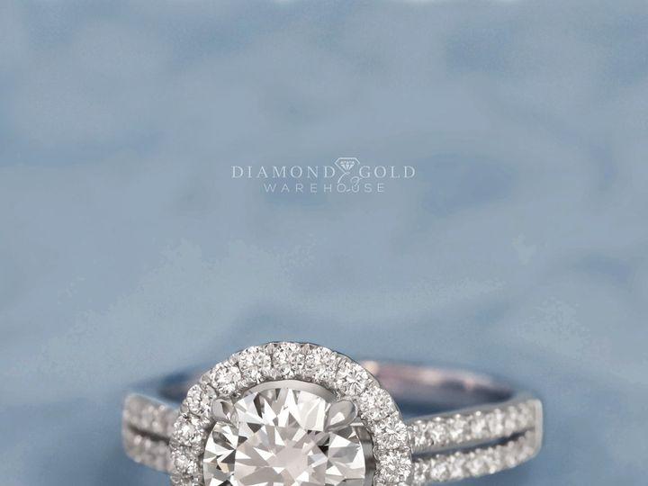 Tmx 3019je Split Band Halo Round Diamond 51 411923 1570478881 Dallas, TX wedding jewelry