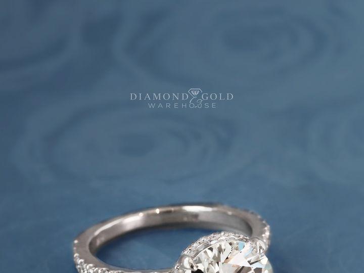 Tmx 4 09ct Round Hidden Halo 5 51 411923 1570478854 Dallas, TX wedding jewelry