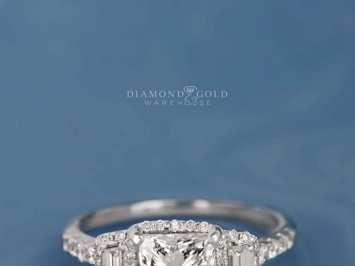 Tmx Custom Three Stone Halo 2 51 411923 1570478859 Dallas, TX wedding jewelry