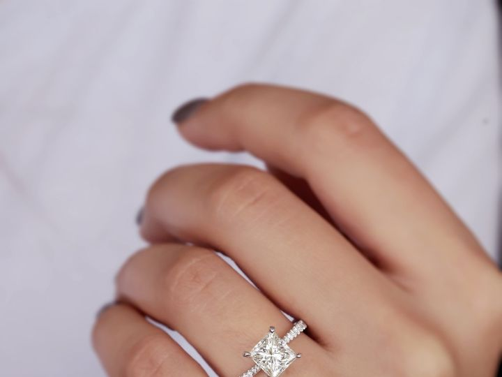 Tmx Diamond Princess Tapered Engagement Ring 2 51 411923 1570477577 Dallas, TX wedding jewelry