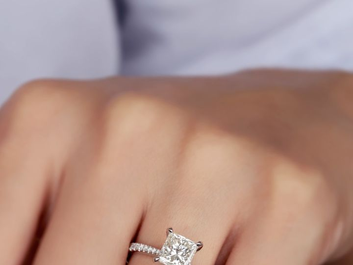 Tmx Diamond Princess Tapered Engagement Ring 51 411923 1570477577 Dallas, TX wedding jewelry