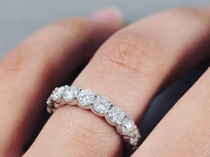 Tmx Eternity Band Rbc 51 411923 158284240361103 Dallas, TX wedding jewelry
