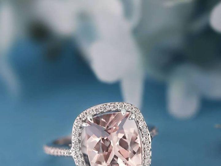 Tmx Morganite Halo 51 411923 158284243071779 Dallas, TX wedding jewelry