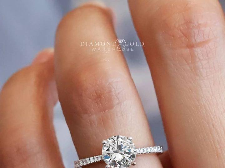 Tmx Petite Round Engagement Ring 51 411923 157850616179398 Dallas, TX wedding jewelry