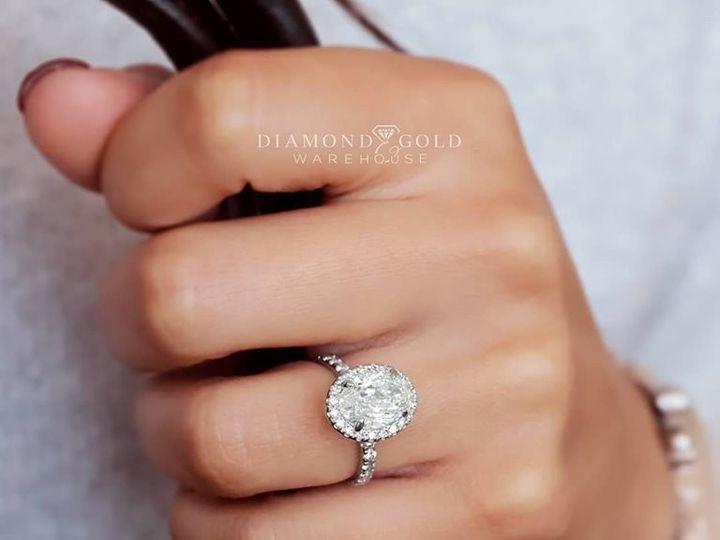 Tmx Three Carat Oval Halo 51 411923 157850614935628 Dallas, TX wedding jewelry