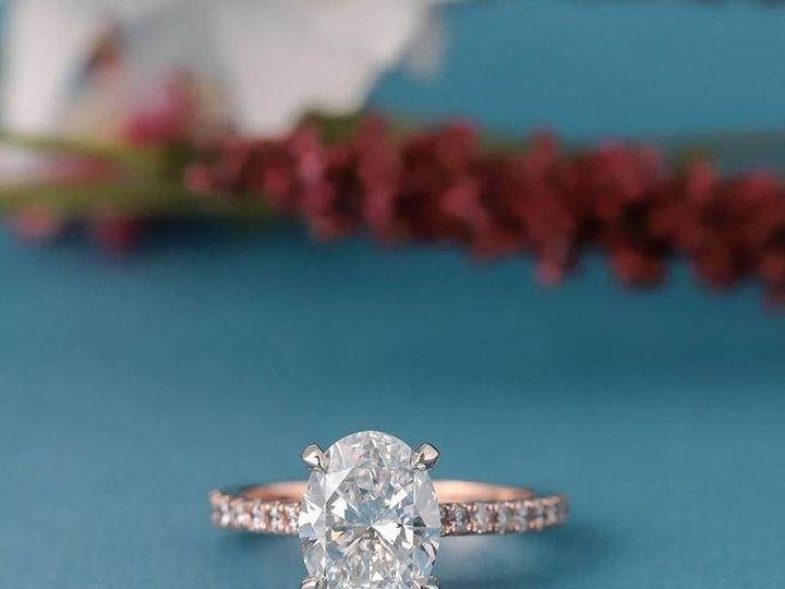 Tmx Two Tone Rose Gold Oval 51 411923 158284182386173 Dallas, TX wedding jewelry