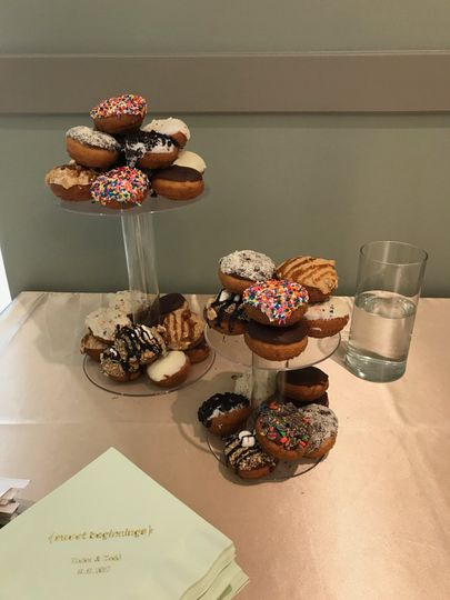 Donut towers
