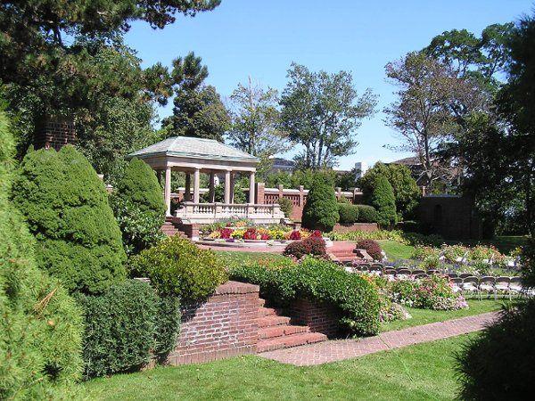 Garden and tea house