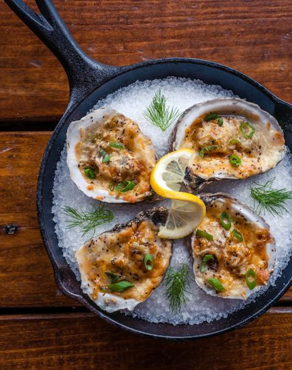 BBQ Oysters, y'all!