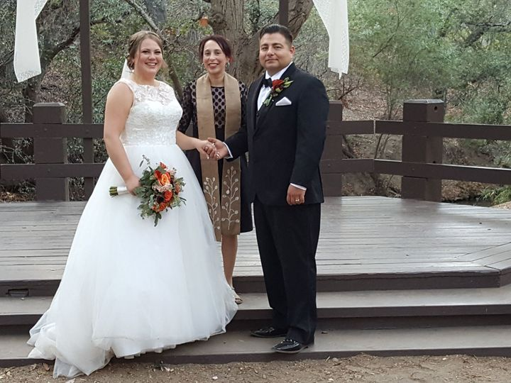 Tmx 1519690550 14a6d4088c12e5c5 1519690547 70dab453bad712fc 1519690545200 3 Richard And Elizab Culver City, California wedding officiant