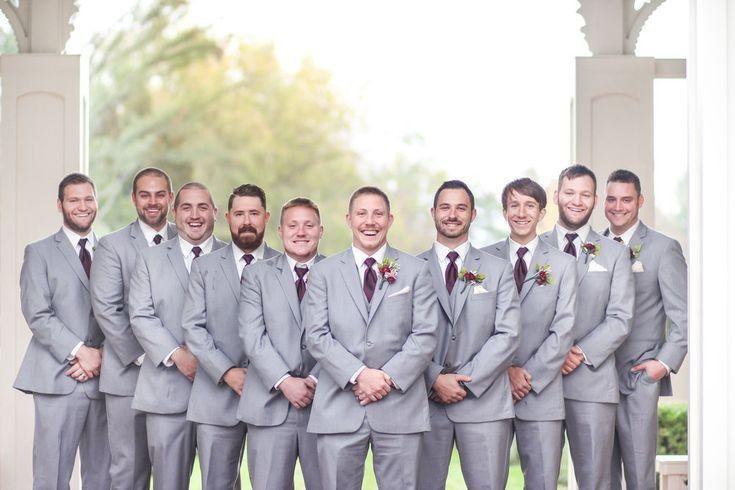 Bridal party - groomsmen