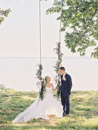 Romantic Manor Swing