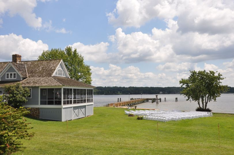 Venue and waterfront wedding site