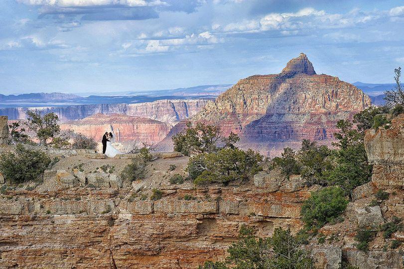 heather kadar grand canyon shoshone point wedding