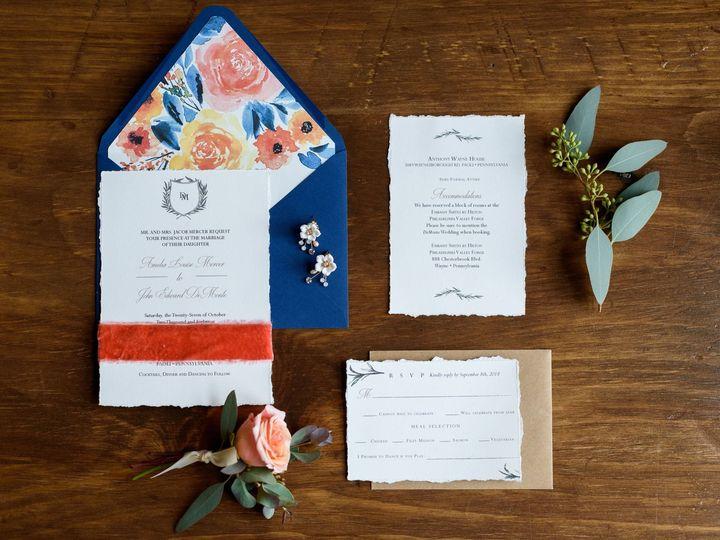 Tmx Michellelynnweddings Petalcollective Stonebrook 164 51 1086923 157542869025863 Pottstown, PA wedding invitation