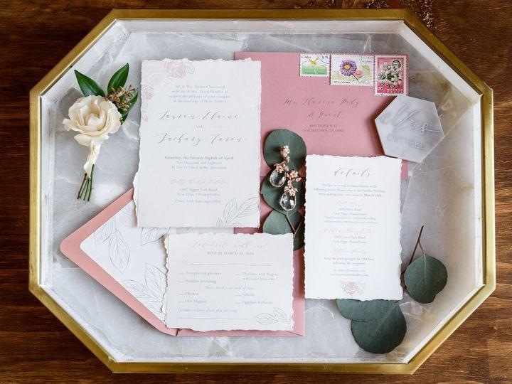 Tmx Michellelynnweddings Petalcollective Stonebrook 4 51 1086923 157542870112766 Pottstown, PA wedding invitation