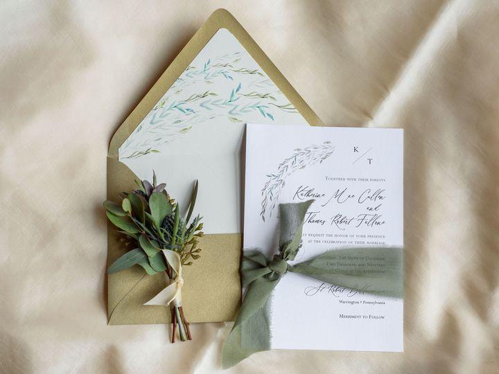 Tmx Michellelynnweddings Petalcollective Stonebrook 87 51 1086923 157542871233060 Pottstown, PA wedding invitation