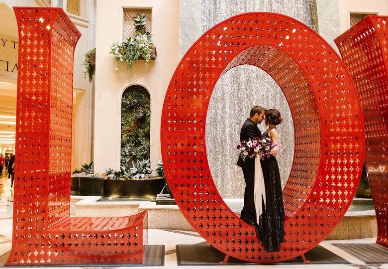 New trend black wedding gown - @theventian @weddingvowslasvegas