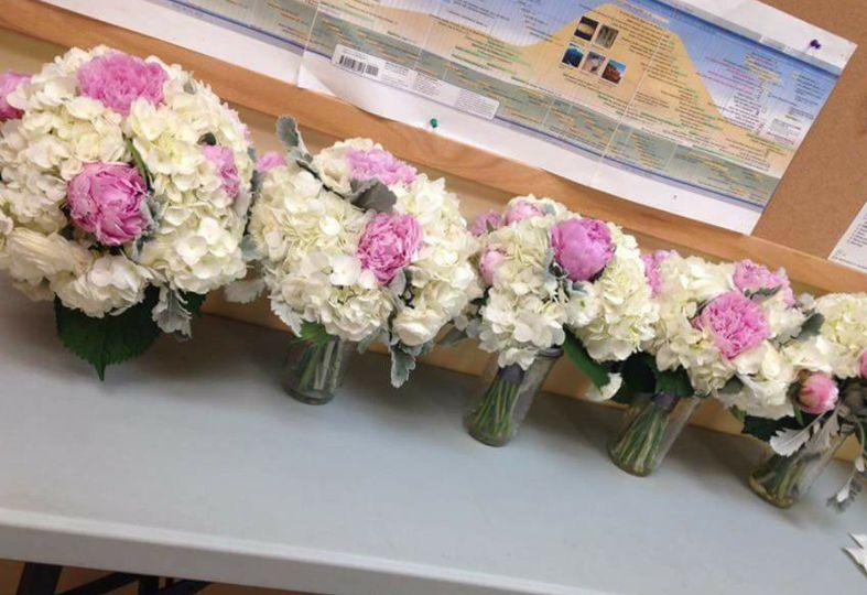 Flower arrangement samples