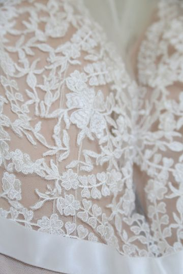gown close up