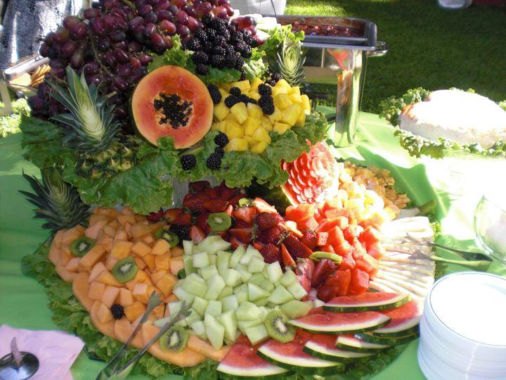 Chef designed fruit display