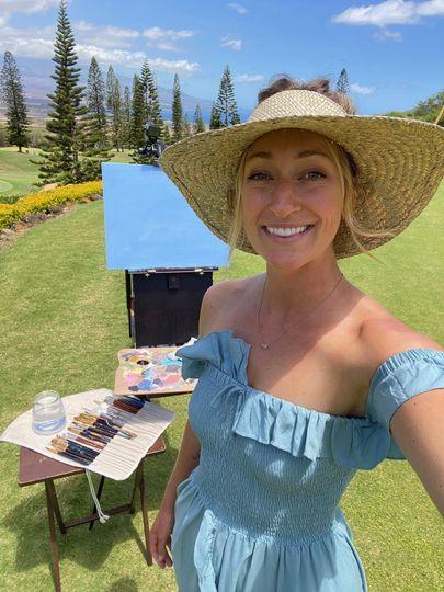The Maui Wedding Painter