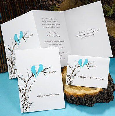 Tmx 1346942576879 Carlsonaqualovebirds Port Orange, FL wedding invitation
