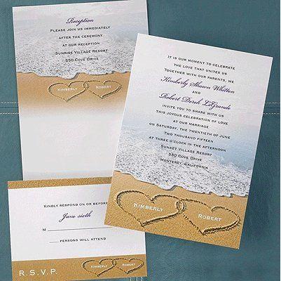 Tmx 1346942578488 CarlsonBeachHearts Port Orange, FL wedding invitation