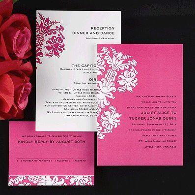 Tmx 1346942589185 CarlsonPinkDamask Port Orange, FL wedding invitation