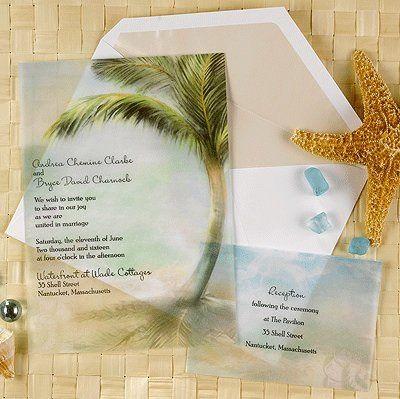 Tmx 1346942593147 Carlsontranslucentpalmtree Port Orange, FL wedding invitation