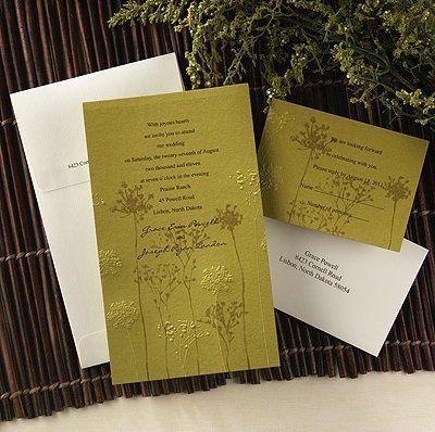 Tmx 1346942596449 CarlsonWildflower Port Orange, FL wedding invitation