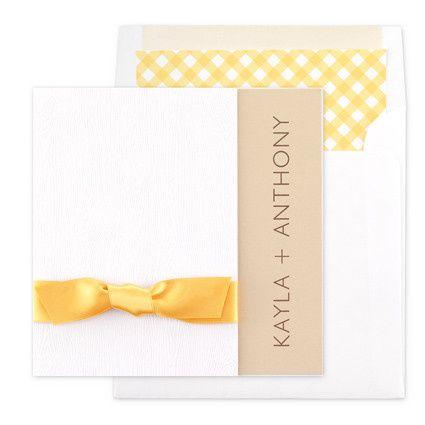 Tmx 1479477557165 Bri Gingham Port Orange, FL wedding invitation