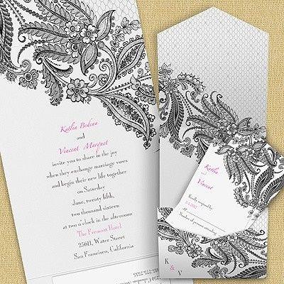 Tmx 1479477773202 Cc Lacy Delight Pocket Port Orange, FL wedding invitation
