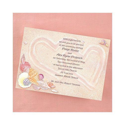 Tmx 1479477842730 Seashell 1 Port Orange, FL wedding invitation