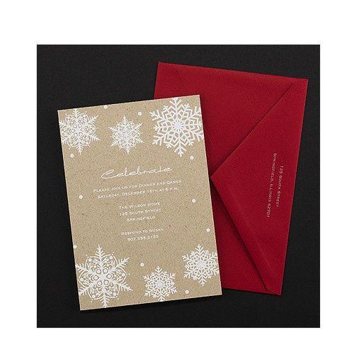 Tmx 1479477851756 Snowflake 1 Port Orange, FL wedding invitation