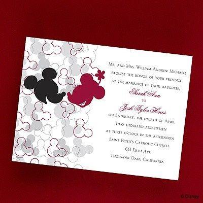 Tmx 1479477941239 Cc Mickeys Love Port Orange, FL wedding invitation