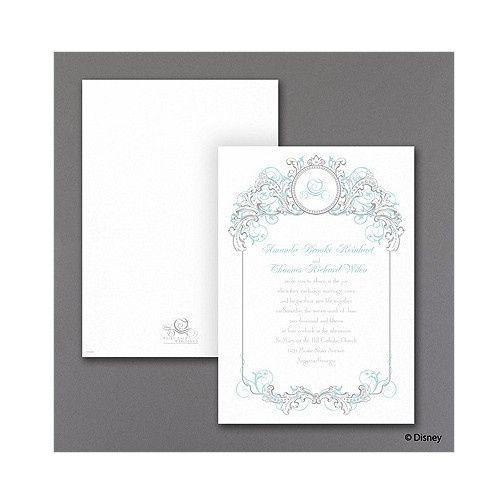 Tmx 1479477958076 Disney Fairy Tale Filigree 1 Port Orange, FL wedding invitation
