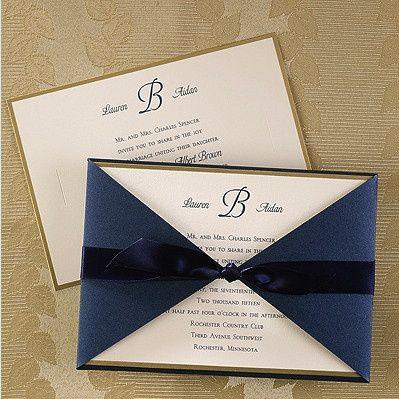 Tmx 1479477974691 Cc Blueborder Port Orange, FL wedding invitation