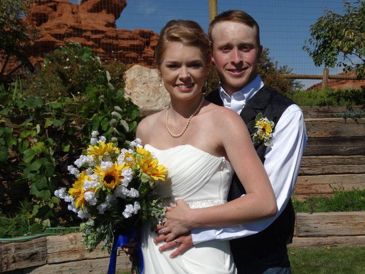Newlywed Mr and Mrs Lodge
