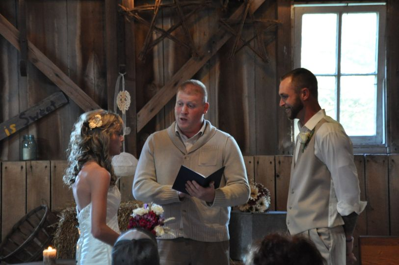 Indoor and outdoor weddings are options with officiants available to fit your needs.