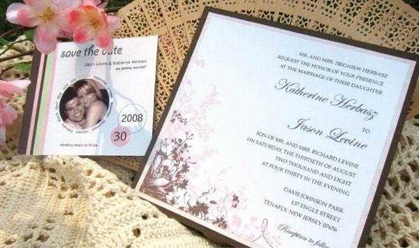 Tmx 1315327920214 WeddingA New Milford wedding invitation