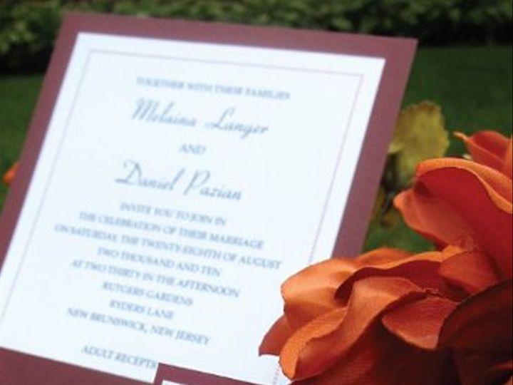 Tmx 1315327922417 WeddingC New Milford wedding invitation