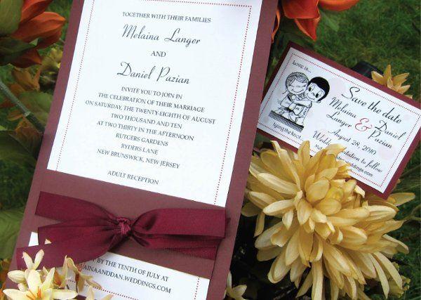 Tmx 1315327924167 WeddingD New Milford wedding invitation