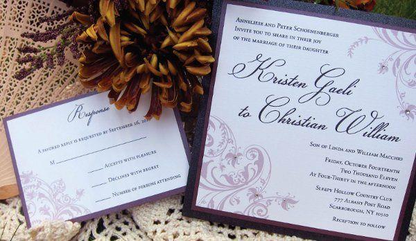 Tmx 1315327925808 WeddingE New Milford wedding invitation