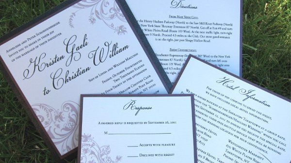Tmx 1315328005042 KSwedding3 New Milford wedding invitation