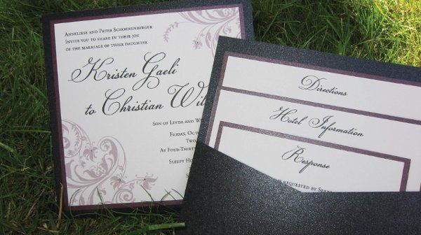 Tmx 1315328006542 KSwedding4 New Milford wedding invitation